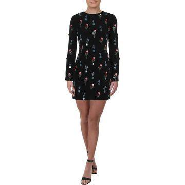 Cushnie et Ochs Womens Party Dress Silk Embellished - 0