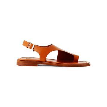 Lafayette 148 New York Celia Leather Slingback Sandals