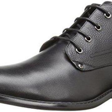 English Laundry Men's Chiswick Chukka Boot, Black, 10 M US