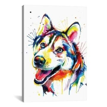 iCanvas Husky by Weekday Best Gallery-Wrapped Canvas Print - 26