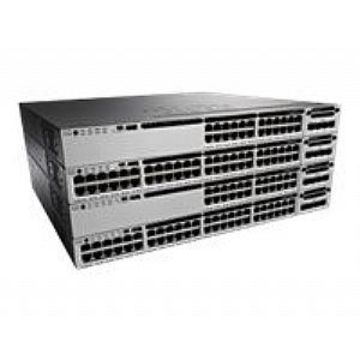 Cisco Catalyst 3850-48F-E - Switch - L3 - managed - 48 x 10/100/1000 (