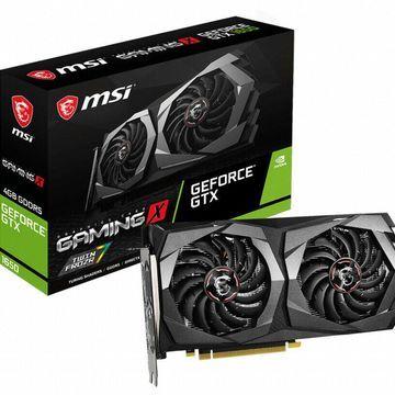 MSI GeForce GTX 1650 4GB Gaming X GDDR5 Graphics Card