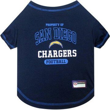 Pets First NFL San Diego Chargers Pet T-shirt, Assorted Sizes