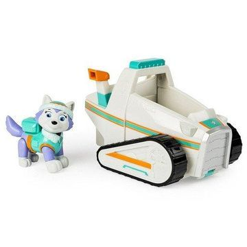 Paw Patrol Everest's Rescue Snowmobile Vehicle & Figure Dog Snow Play Rides Claw