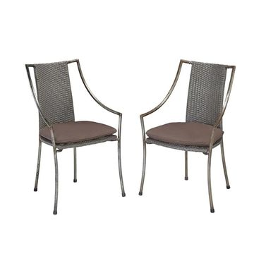 Urban Outdoor Cafe Chair (Set of 2) by Home Styles