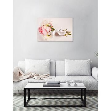 Oliver Gal 'Bouquet of Peonies' Canvas Art