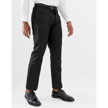 Bellfield pants with contrast trim in black