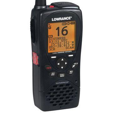 Lowrance Link-2 Waterproof Marine Handheld VHF Radio with GPS Class D DSC