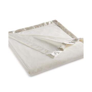 Martha Stewart Collection Soft Fleece Queen Blanket