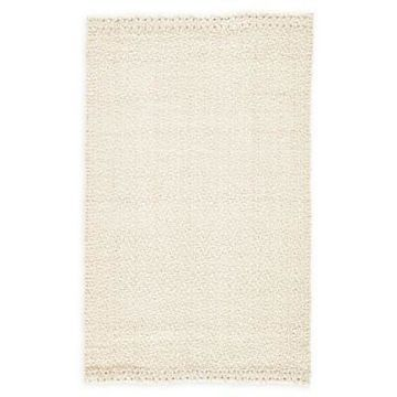 Jaipur Living Tracie Jute 9' x 12' Area Rug in White