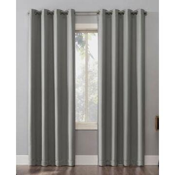 Sun Zero Oslo Blackout Grommet Curtain Panel, 52