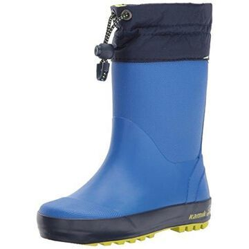Kamik Kids' Drizzly Snow Boot, Strong Blue, 7 Medium US Toddler