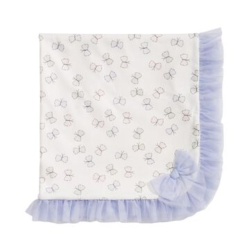 Baby Girls Butterfly Tulle Blanket, Created for Macy's