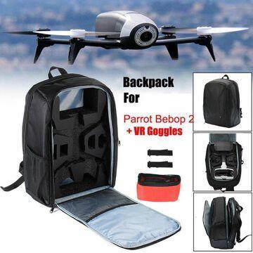 Portable Shoulder Bag Carrying Backpack For Parrot Bebop 2 Power FPV Drone US