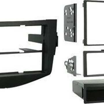 Metra - Dash Kit for Select 2006-2012 Toyota RAV4 - Black