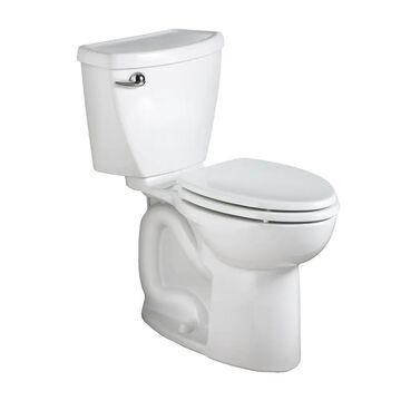 American Standard Cadet 3 White Round Chair Height 2-Piece WaterSense Toilet 10-in Rough-In Size (ADA Compliant) | 270BB101.020