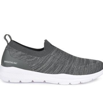 Vance Co. Pierce Men's Shoe (Gray - Size 8.5 - FABRIC)