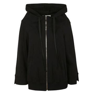 Alberta Ferretti Oversize Zipped Hoodie