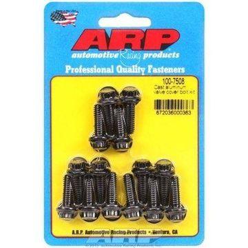 ARP 100-7508 Cast aluminum valve cover bolt kit