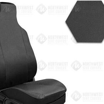 NorthWest Form Fit Seat Covers, 3rd-Row Seat Covers in Grey, B0