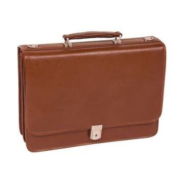 Mcklein Lexington Flapover Double Compartment Briefcase