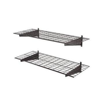Edsal 2-Shelf Wire Garage Wall Storage System
