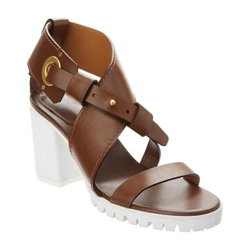 Chloe Scottie Leather Sandal