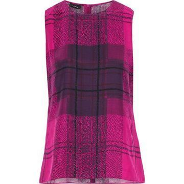 Akris Printed Silk Tank