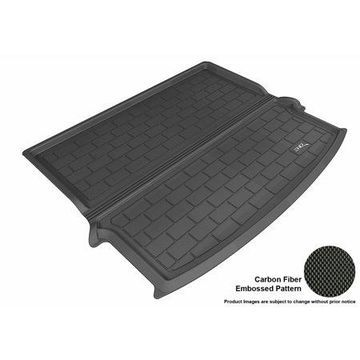3D MAXpider 2014-2017 Jeep Cherokee All Weather Cargo Liner in Black with Carbon Fiber Look