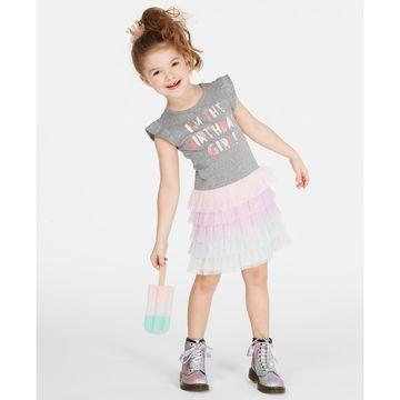 Toddler Girls Birthday Tulle Dress, Created for Macy's