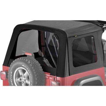 Bestop 58709-35 Jeep Wrangler Tinted Window Kit, Black Diamond