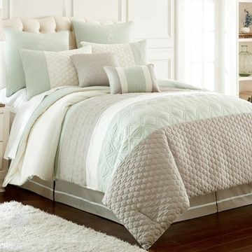 Amrapur Overseas Palisades Embroidered 8-Piece Comforter Set