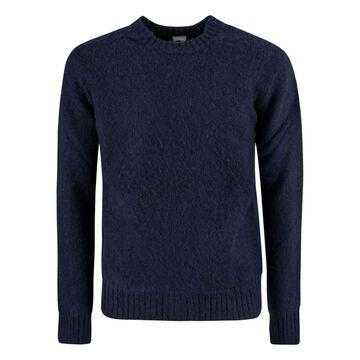 Aspesi Round Neck Rib Knit Sweater