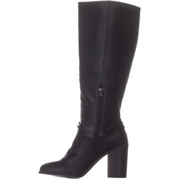 Madden Girl Womens Edrea Almond Toe Knee High Fashion Boots