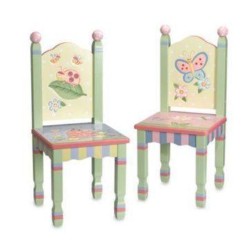 Teamson Magic Garden Chairs (Set of 2)