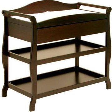 Storkcraft Aspen Changing Table with Drawer Espresso