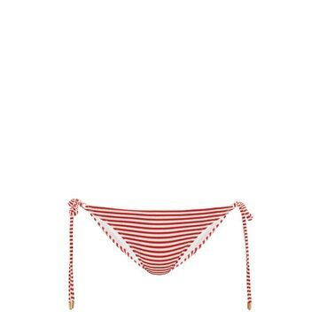 Melissa Odabash - Cancun Striped Side-tie Bikini Briefs - Womens - Red Stripe