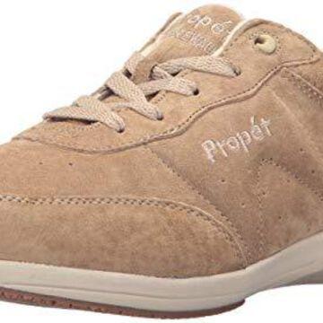 Propet Women's Washable Walker Walking Shoe, SR Taupe, 11 Narrow