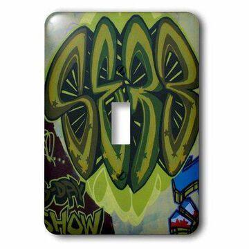 3dRose Fresh graffiti, Single Toggle Switch