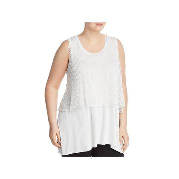 Cupio Womens Tank Dress Sleeveless Mini