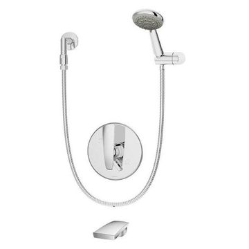 Symmons S-4104 Naru Tub and Shower Trim Package with Handshower and Rough In