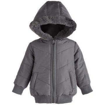 First Impressions Baby Boys Chevron Parka, Created for Macy's