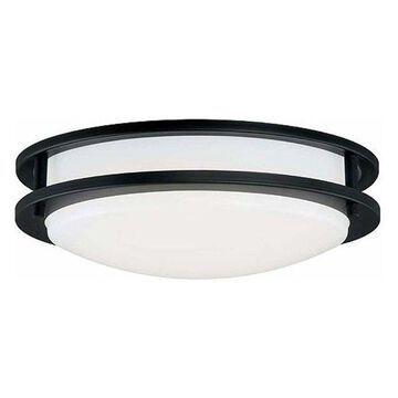 Vaxcel Lighting C0105 Horizon 1 Light LED Flush Mount Ceiling Light