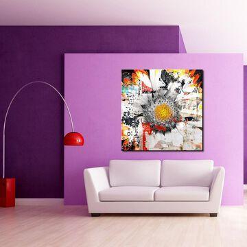 Ready2HangArt 'Painted Petals XCII' Floral Canvas Wall Art