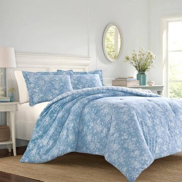 Laura Ashley Walled Garden Comforter & Sham Set