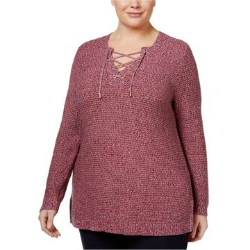 Charter Club Womens Colors Everywhere Pullover Sweater