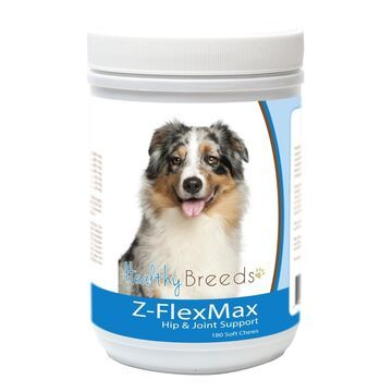 840235156208 Australian Shepherd Z-Flex Max Dog Hip & Joint Support - 180 Count