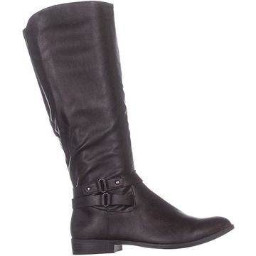 Style & Co. Womens Kindell Leather Closed Toe Mid-Calf Cold
