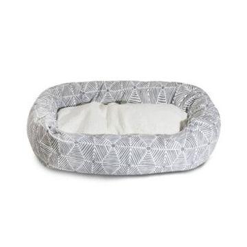 Majestic Pet Charlie Sherpa Bagel Dog Bed