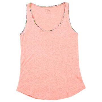 Majestic Filatures Pink Linen Tops